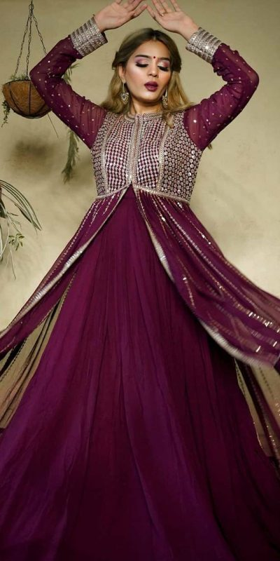 heavenly-purple-color-georgette-with-embroidery-sequence-work-gown