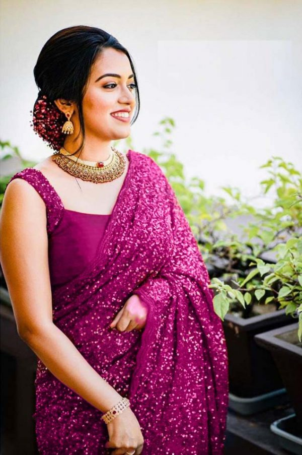 party-wear-pink-georgette-sequence-work-saree-for-womens