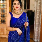 party-wear-royal-blue-georgette-sequence-work-saree-for-womens