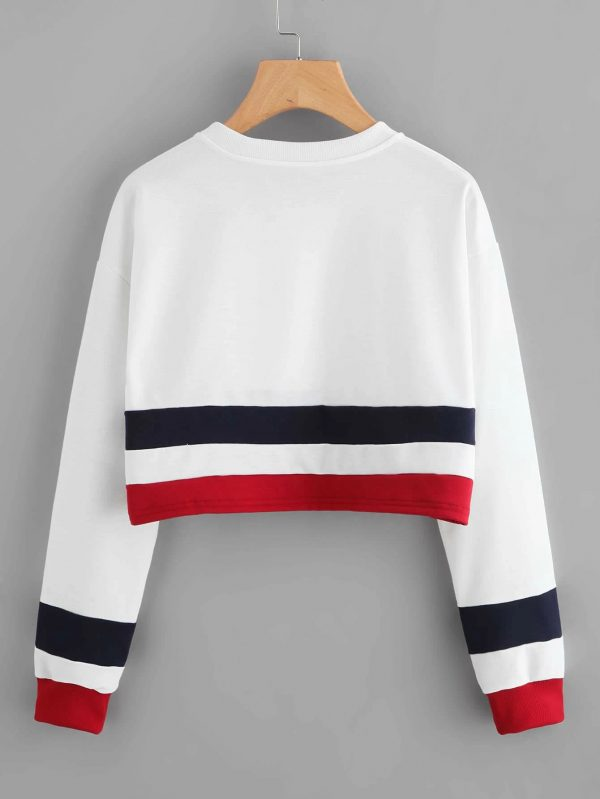 trendy-white-color-rib-cotton-with-stripped-crop-top-sweatshirt