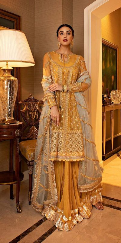 adorable-yellow-color-net-with-embroidery-work-traditional-plazzo-suit
