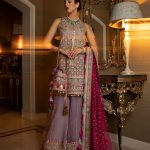 glamorous-purple-color-butterfly-net-with-embroidery-work-plazzo-suit