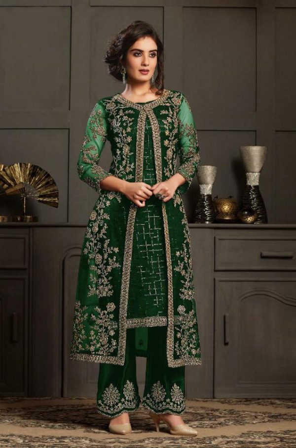 perfect-dazzling-green-color-heavy-butterfly-net-coding-work-salwar-suit