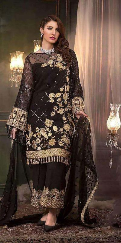 pleasing-black-color-net-with-sequence-work-festive-plazzo-suit