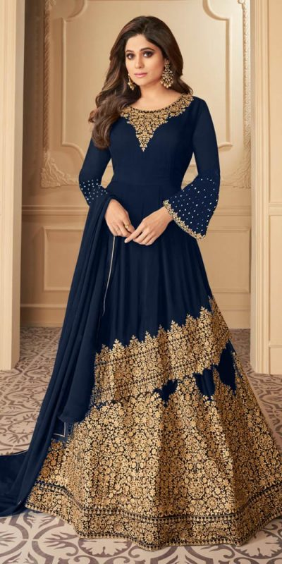 radiant-blue-color-faux-georgette-with-embroidery-work-anarkali-sharara