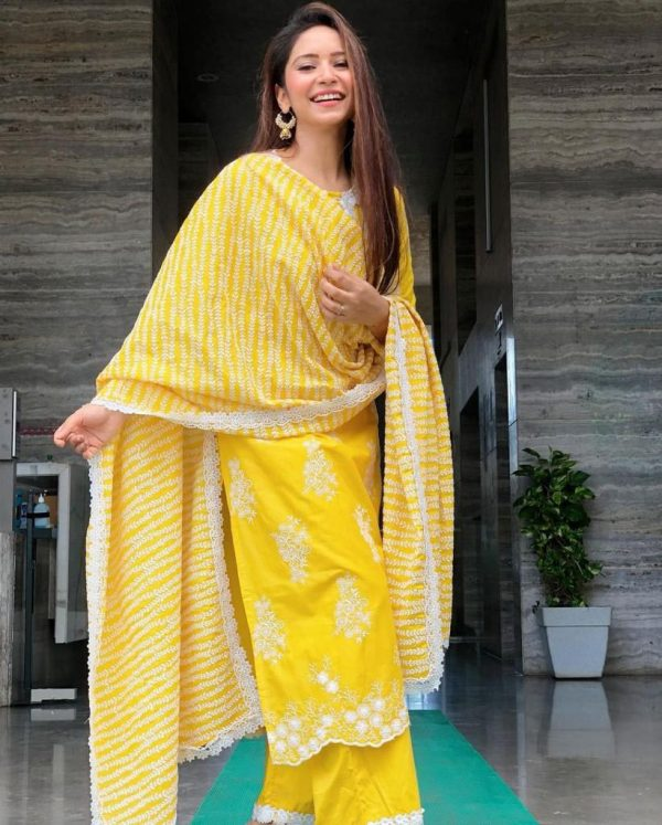 feminine-yellow-color-georgette-with-embroidery-work-plazzo-suit