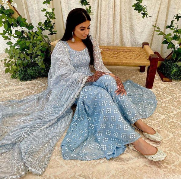 stunning-grey-color-net-with-embroidery-mirror-work-sharara-suit