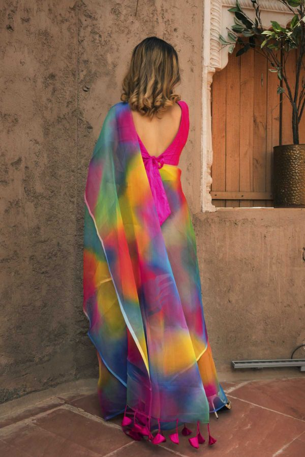 trending-heavenly-light-weight-multi-color-organza-party-wear-saree