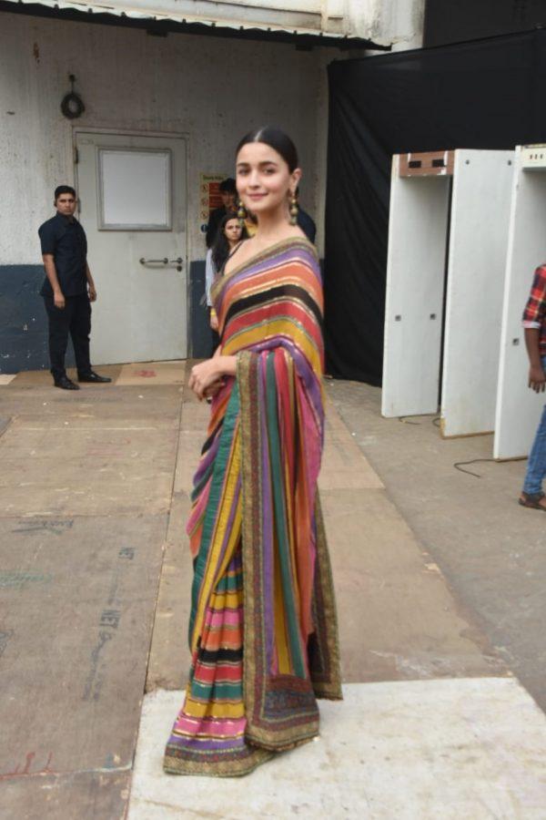 gorgeous-alia-bhatt-in-sabyasachi-multi-color-designer-party-wear-saree
