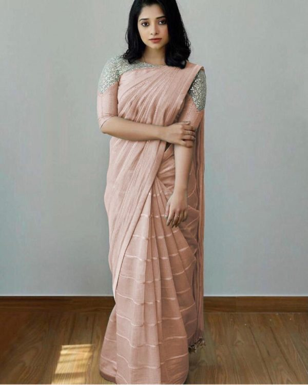 attractive-orange-color-heavy-silk-with-sequence-embroidery-fancy-saree