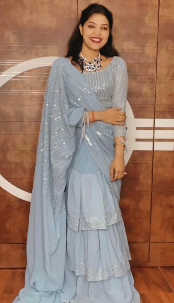 fascinating-grey-color-party-wear-sequence-saree