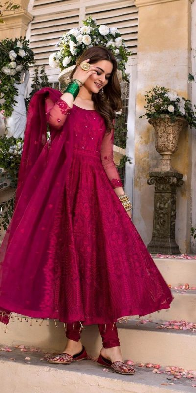 harmonious-red-color-embroidery-with-diamond-work-gown