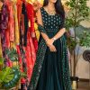 marvelous-womens-green-color-sequence-embellished-trendy-gown