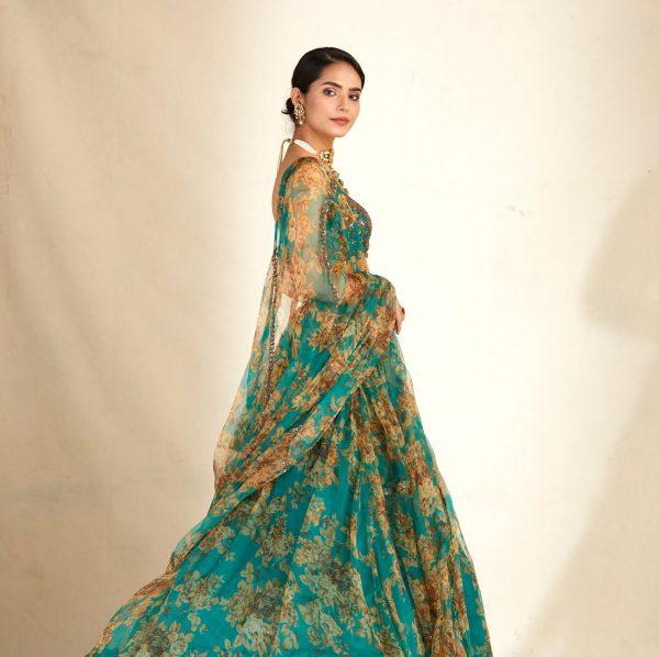 spectacular-green-color-original-organza-floral-printed-lehenga-choli