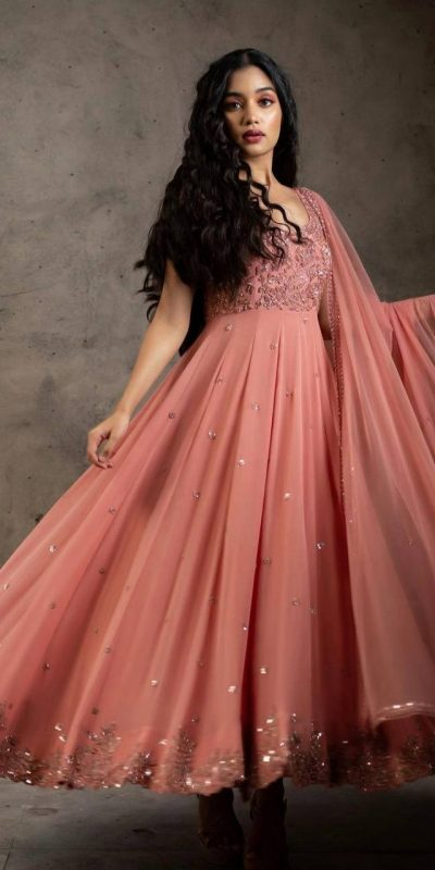 stunning-orange-color-embroider-with-sequence-work-gown