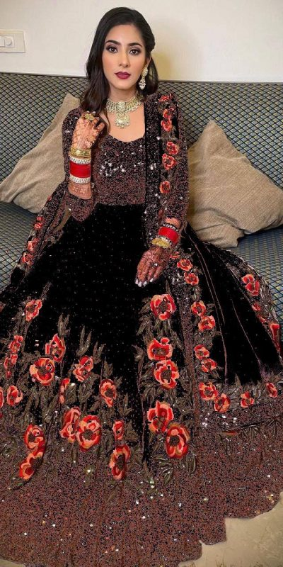 womens-black-color-full-sequence-diamond-work-party-wear-gown