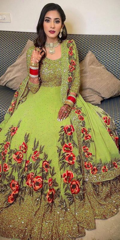 womens-green-color-full-sequence-diamond-work-party-wear-gown