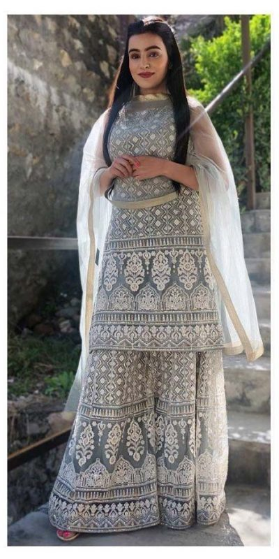 beautiful-grey-color-georgette-with-embroidery-party-wear-plazzo-suit