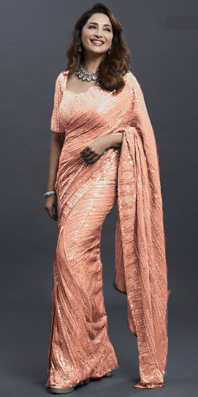 dreamy-Orange-color-georgette-with-fancy-sequence-work-saree-copy