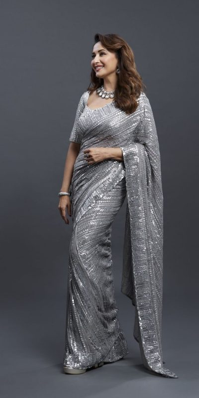 dreamy-grey-color-georgette-with-fancy-sequence-work-saree