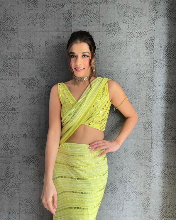 flawless-light-green-color-brand-new-full-sequence-party-wear-saree
