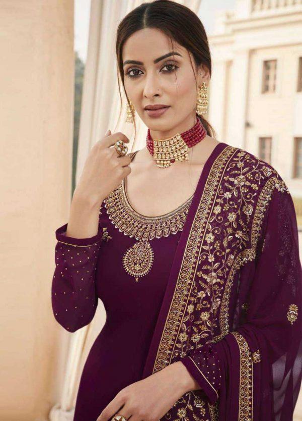 fragile-wine-color-embroidery-diamond-embellished-ethnic-salwar-suit