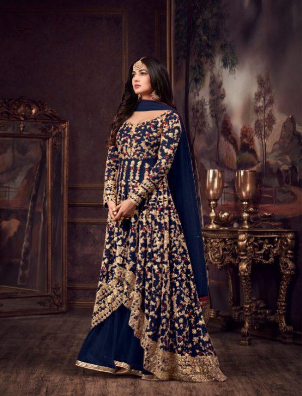 maisha-womens-wear-blue-color-heavy-net-embroidered-stone-work-sharara-suit