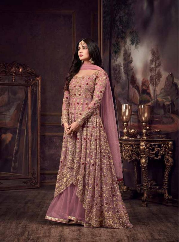 maisha-womens-wear-pink-color-heavy-net-embroidered-stone-work-sharara-suit