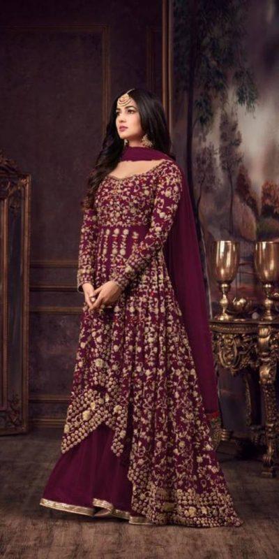 maisha-womens-wear-purple-color-heavy-net-embroidered-stone-work-sharara-suit