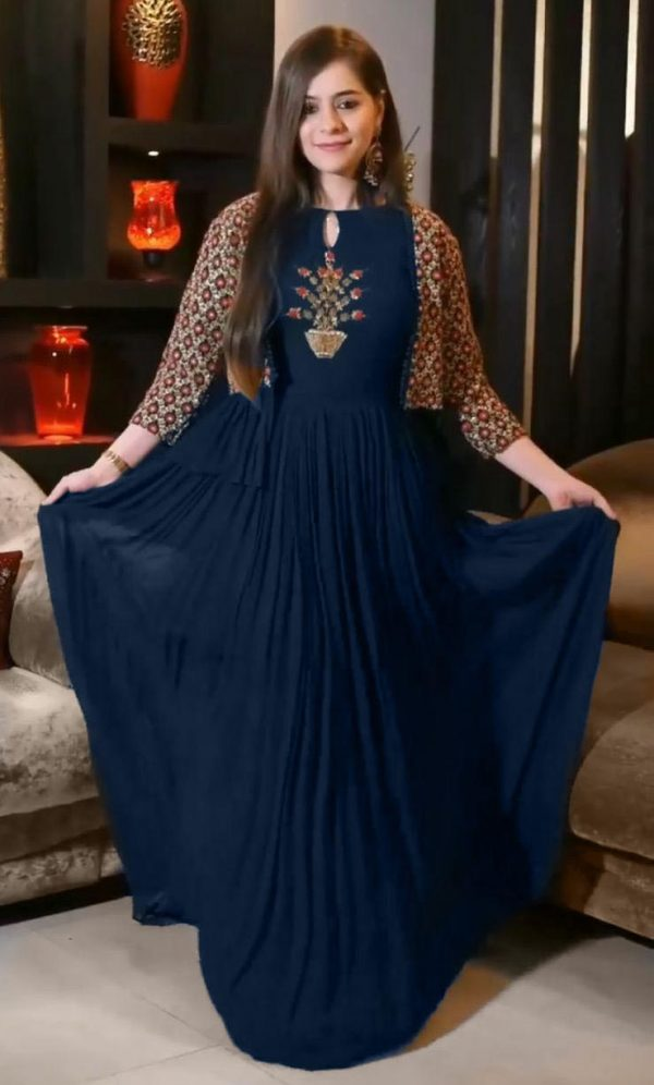 beauteous-blue-color-heavy-embroidery-with-jacket-style-anarkali