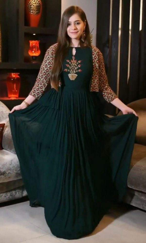 beauteous-green-color-heavy-embroidery-with-jacket-style-anarkali