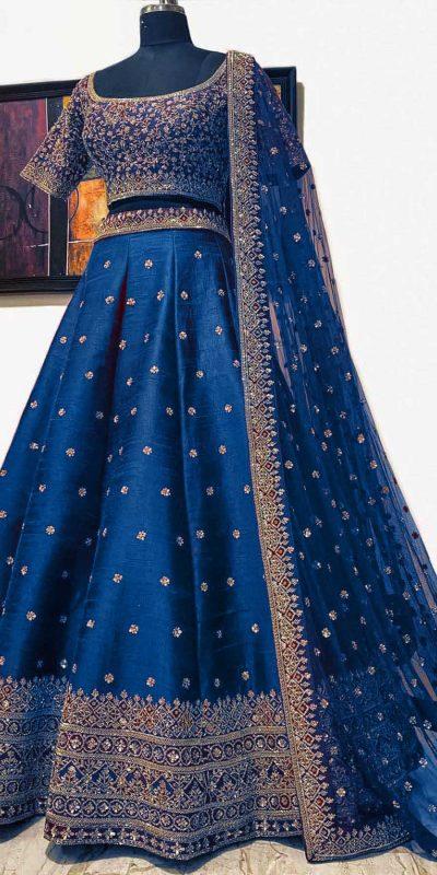 elegant-blue-color-embroidery-sequence-work-festive-lehenga-choli