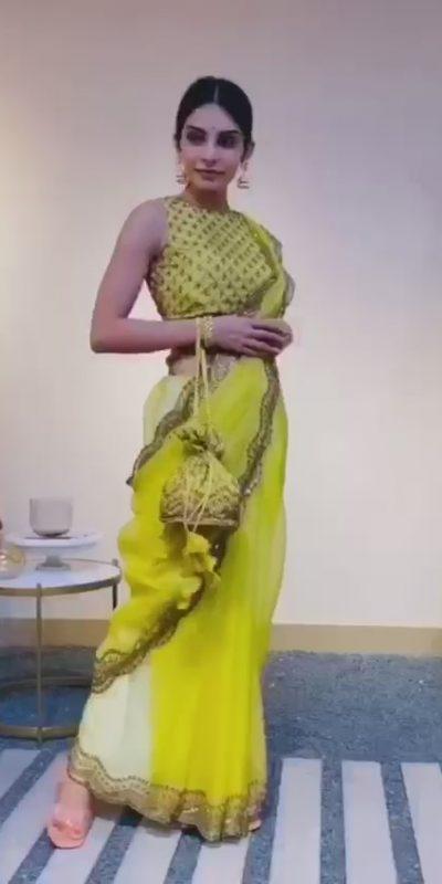 glamorous-womens-yellow-color-beautiful-designer-sequence-saree