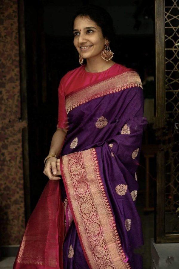 majestic-purple-color-traditional-silk-with-jacquard-work-saree