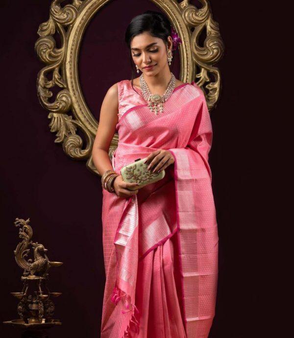 mystical-pink-color-soft-lichi-silk-with-jacquard-work-festive-saree