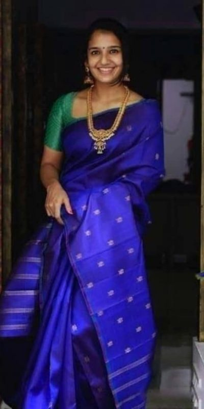 womens-classic-blue-color-traditional-soft-silk-with-jacquard-work-saree
